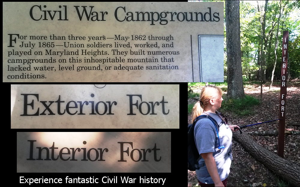 Experience fantastic Civil War history - The Exterior Fort - The Interior Fort - The Stone Fort
