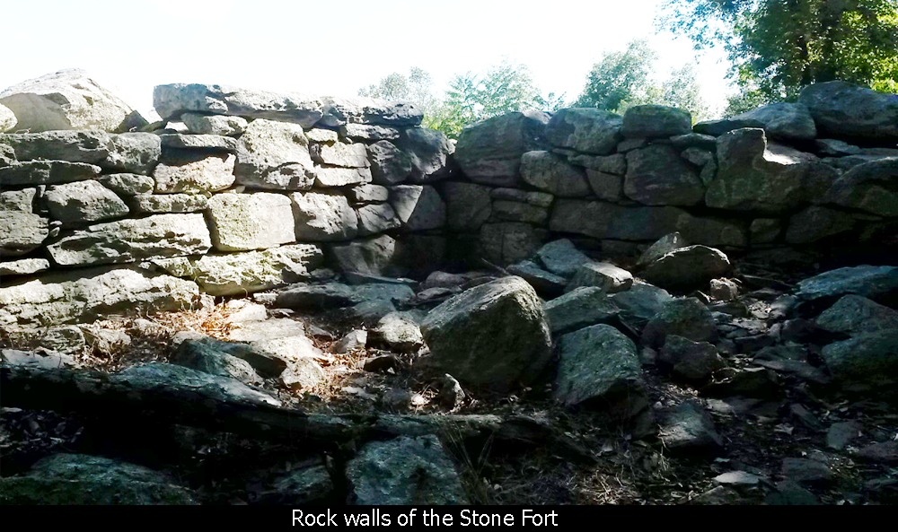 Rock Walls of the Stone Fort