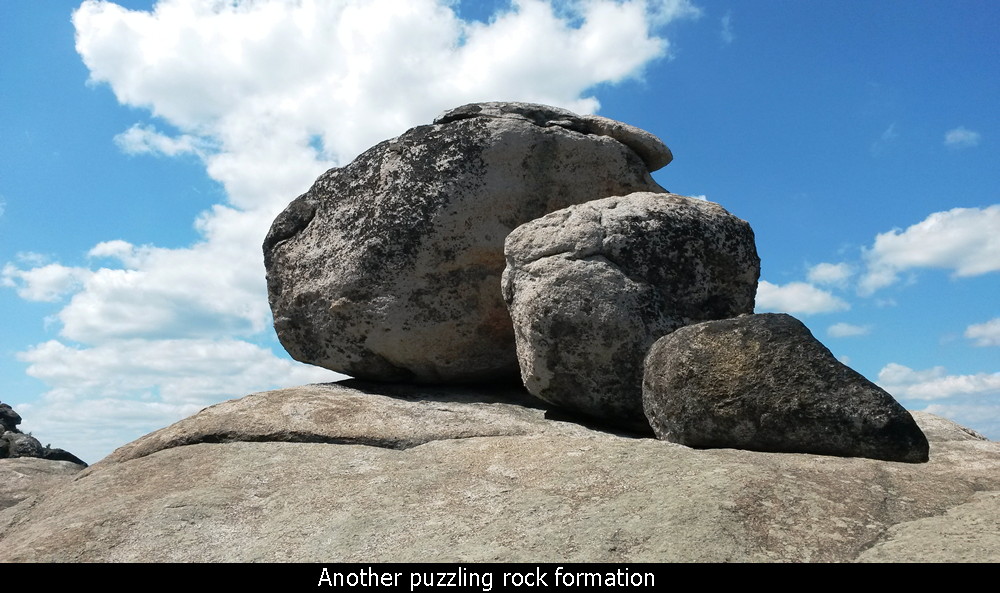 Another puzzling rock formation