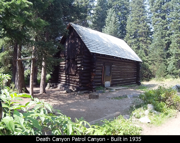 Death Canyon Patrol Canyon - Built in 1935