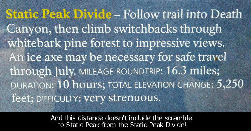 Static Peak Divide Sign
