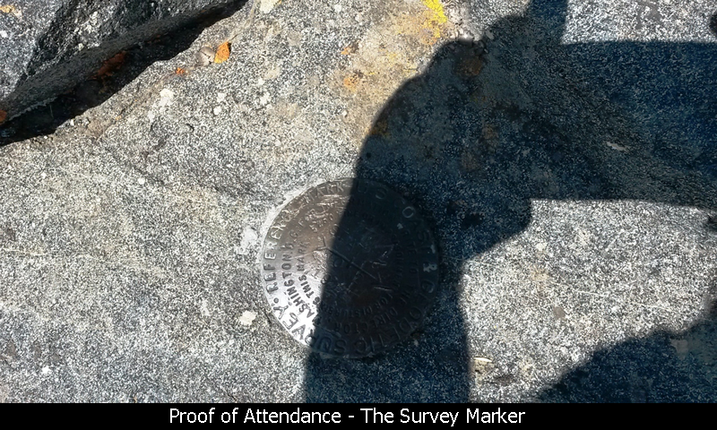 Proof of Attendance - The Survey Marker
