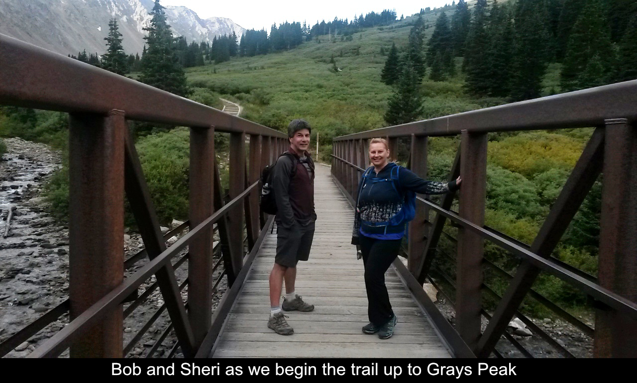 Bob And Sheri Beginning Grays Peak