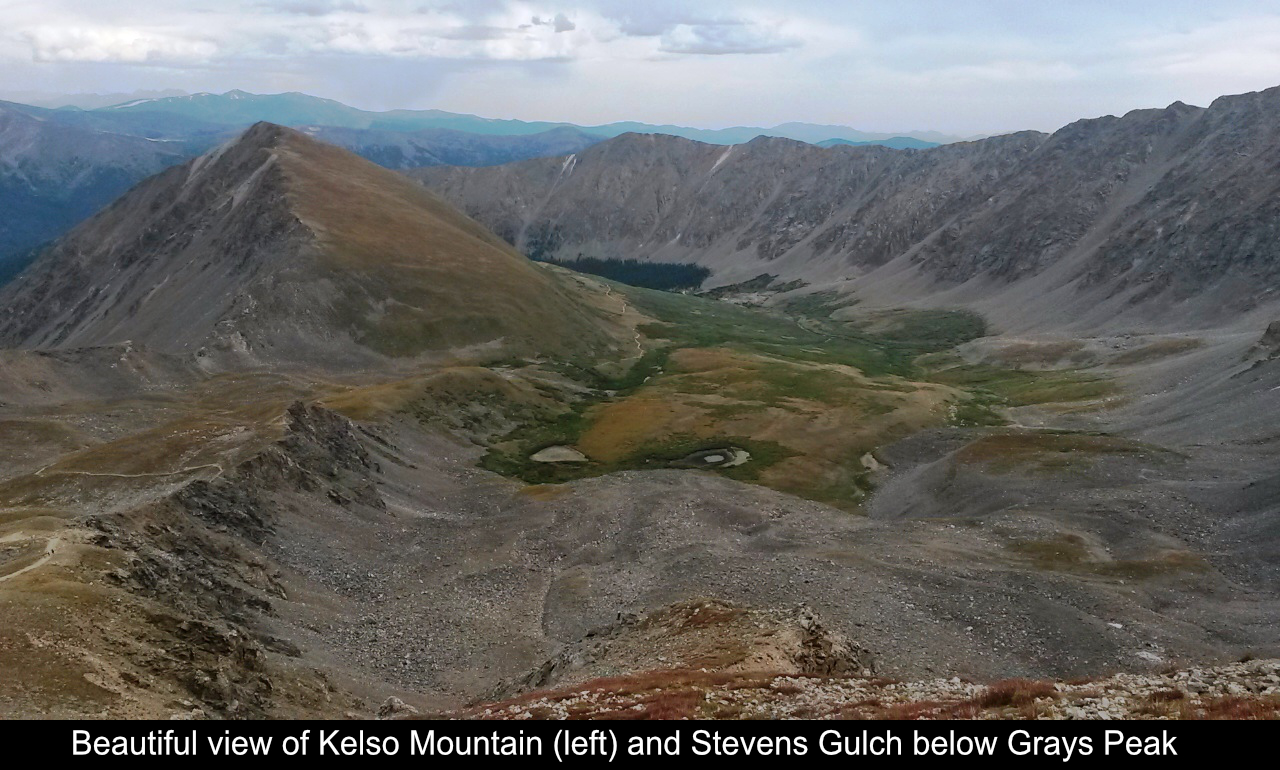 Kelso Mountain And Stevens Gulch