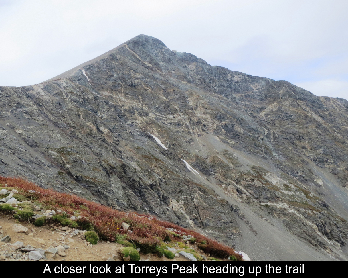 A Closer Look At Torreys Peak