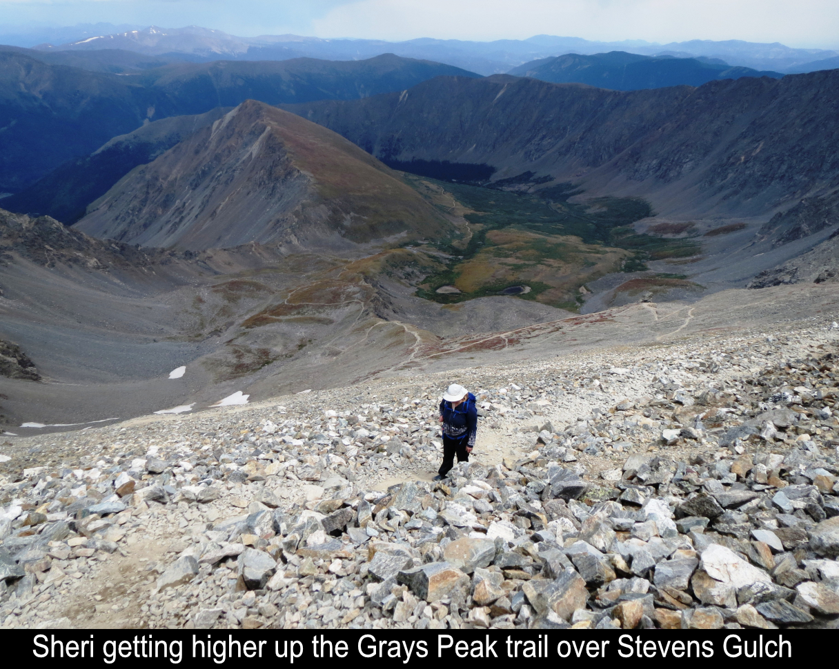 Sheri Higher Up On Grays