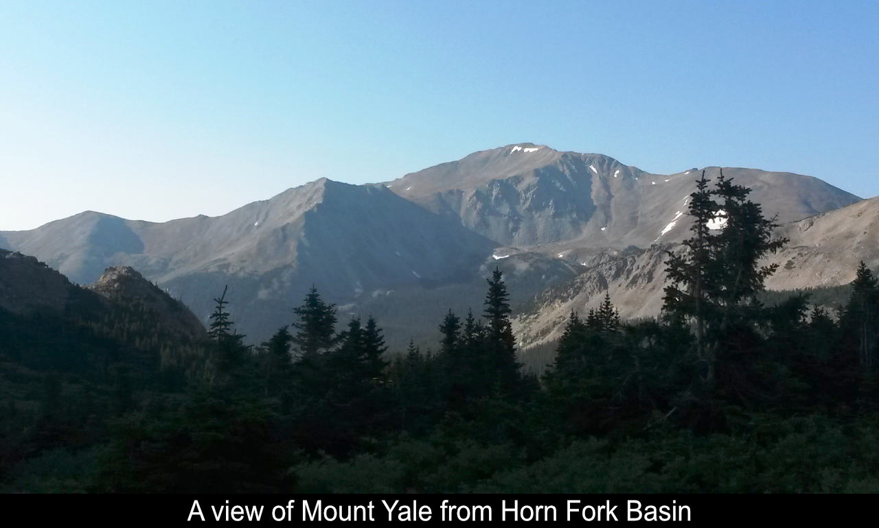 Mount Yale From Horn Fork Basin