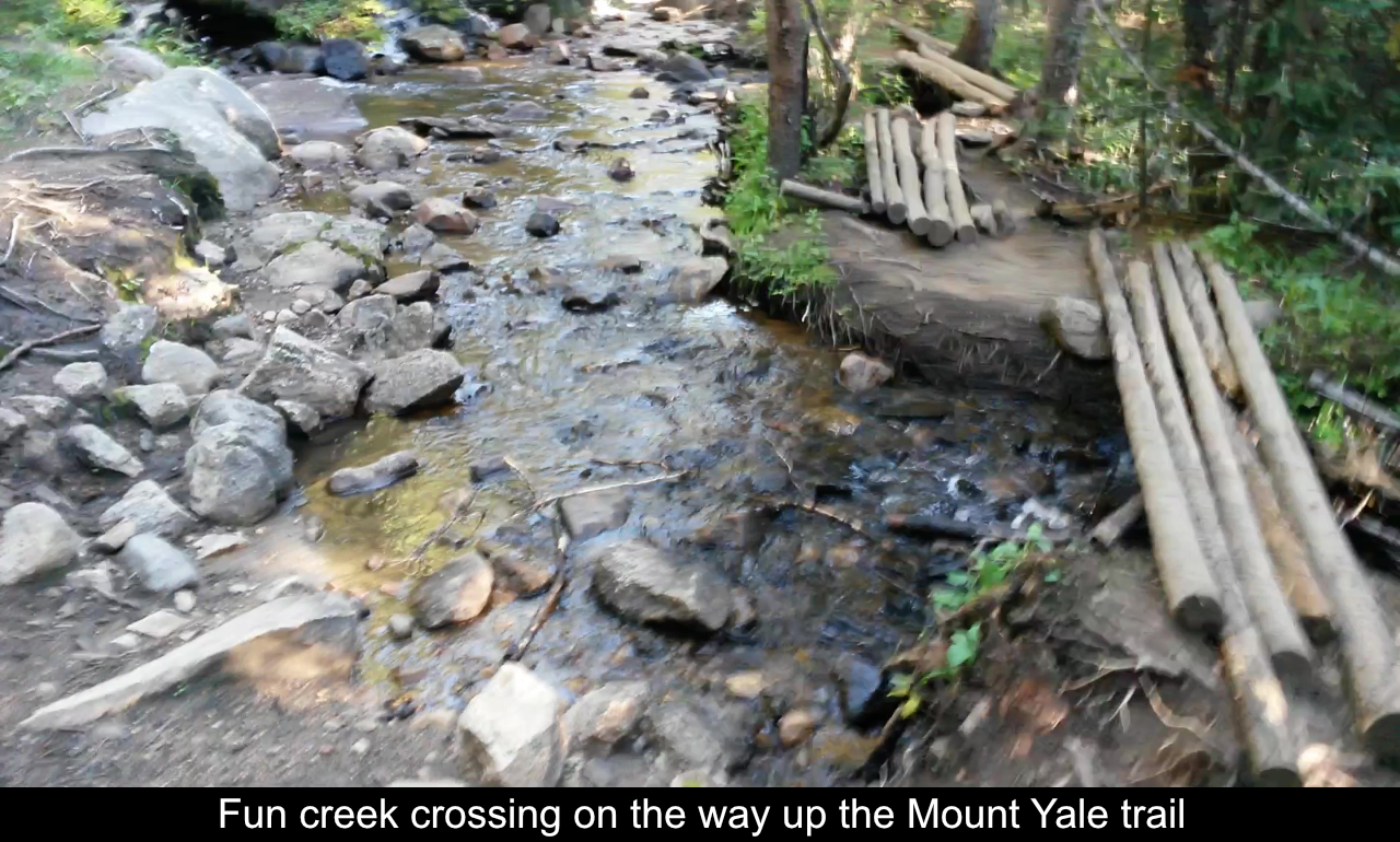 Cool Creek Crossing On Trail