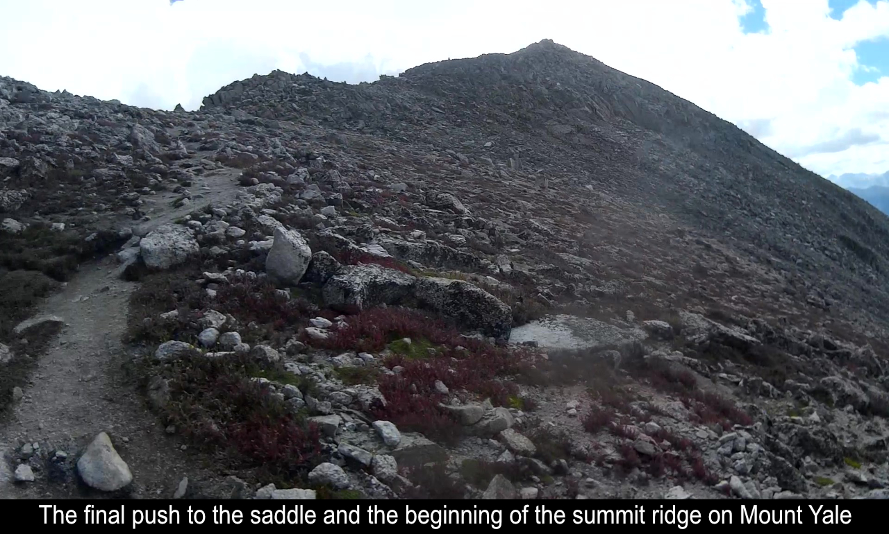 Approaching The Saddle And Start Of Ridge