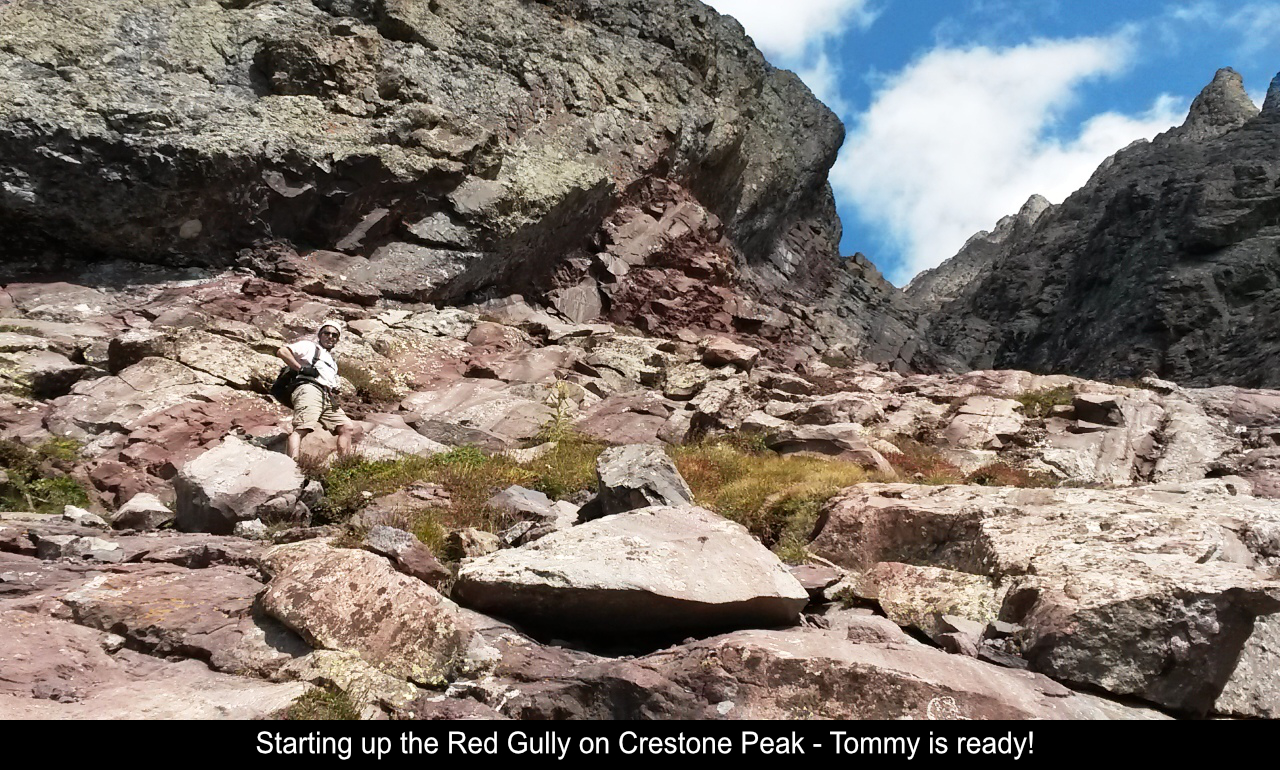 Beginning Up The Red Gully