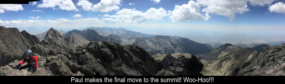 Paul Makes The Summit