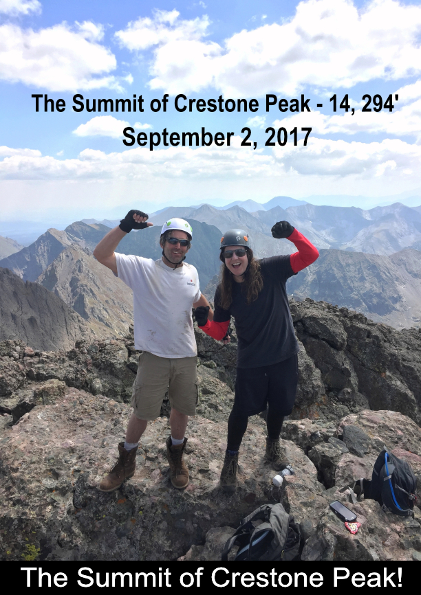 The Summit Of Crestone Peak