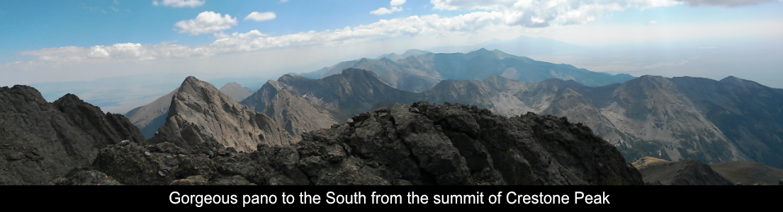Pano To The South From The Summit