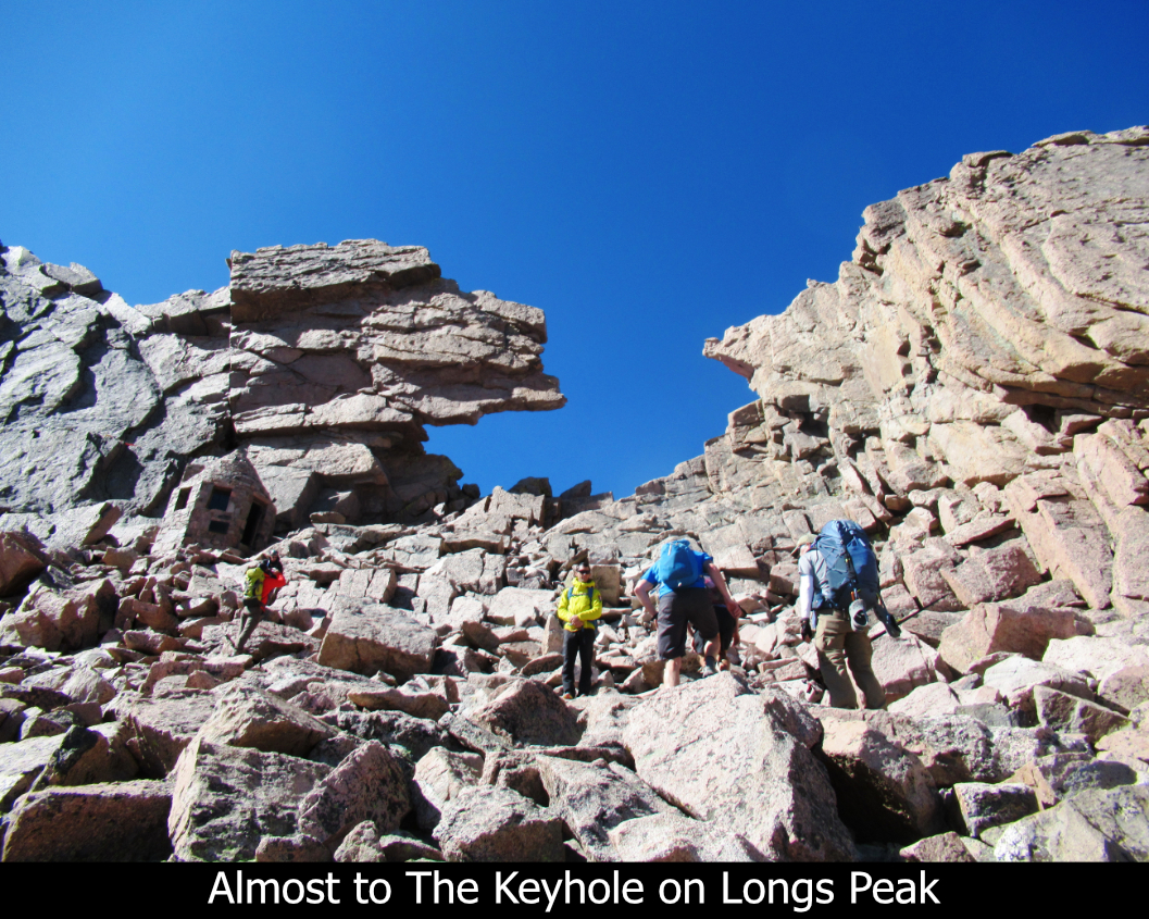 Almost To The Keyhole On Longs Peak