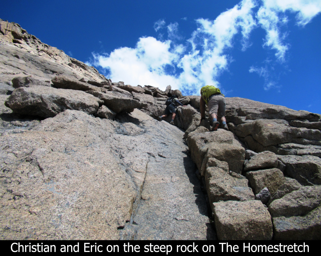 The Steep Rock On The Homestretch