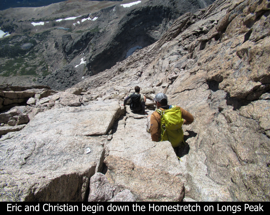 Eric And Christian Descend The Homestretch